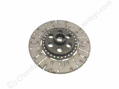 """K956052/1539039C1 Heavy Duty 12"""" Ceramic Clutch Plate - David Brown-Cash IH"""