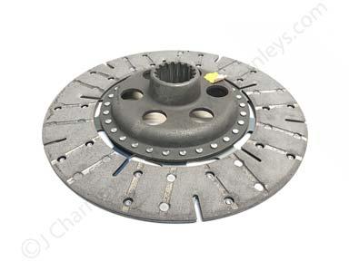 "K202826/1539056C1  Main Drive Heavy Duty 12"" Ceramic Clutch Plate - David Brown 6 Cyl"