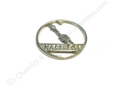 NTK5245 Brass Badge - Marshall