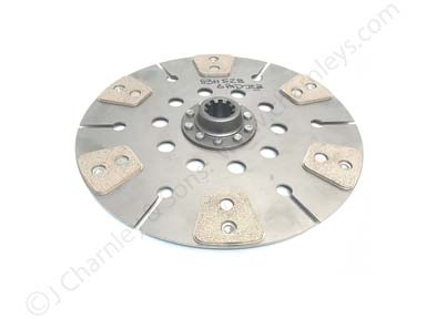 83H528 Leyland 13 inch Heavy Duty Single Ceramic Clutch Plate