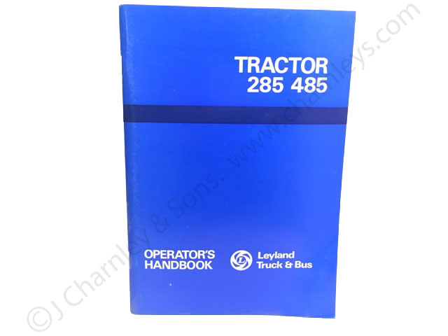AKD8211 Operators Handbook for Leyland 285 and 485 Tractors
