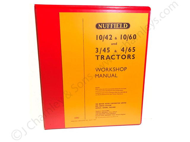 akd4226e nuffield workshop manual rh charnleys com Gibson Tractor Nuffield 460 Tractor