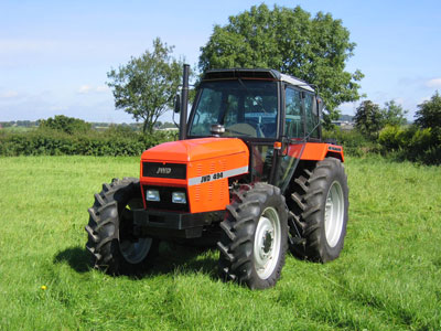 JWD Tractor J Charnley & Sons