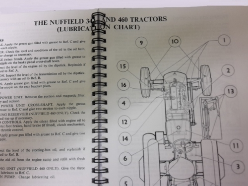 Akd3288c Nuffield 342 And 460 Drivers Handbook