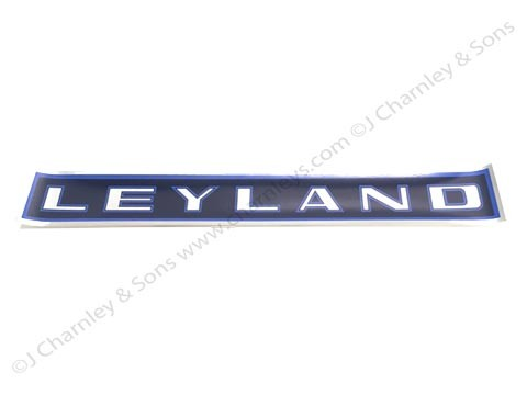 CTJ71 LEYLAND ROOF DECAL