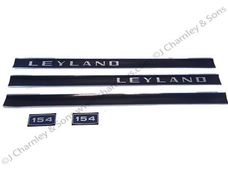 BTJ375K LEYLAND 154 DECAL KIT