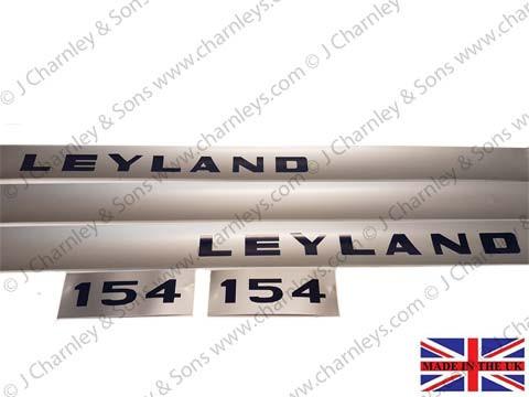 BTJ3658K LEYLAND 154 DECAL KIT