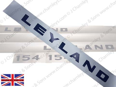 BTJ3660 LEYLAND 154 BONNET DECAL L.H.