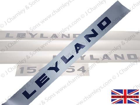 BTJ3661 LEYLAND 154 BONNET DECAL R.H.