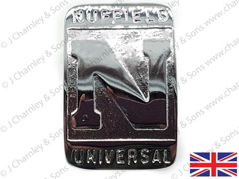 NT5879 NUFFIELD UNIVERSAL BADGE