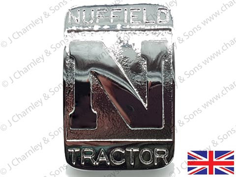 ATJ3075 NUFFIELD TRACTOR BADGE