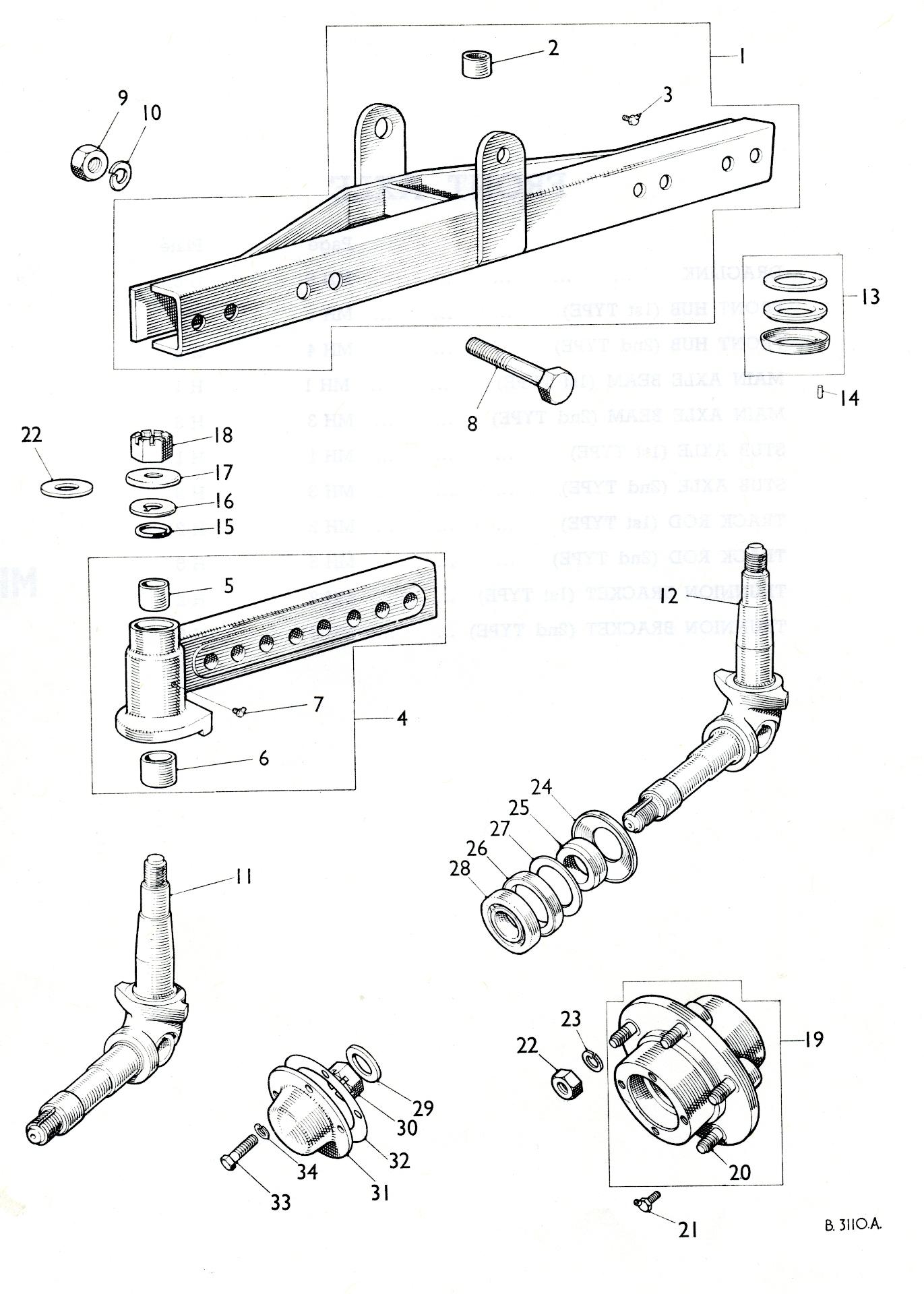 Amk4134 Front Wheel Bearing