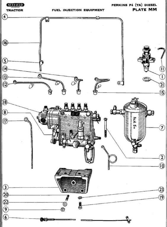 fuel injector pump